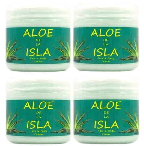 Crème Aloe de la Isla 300 ml 4 pièces