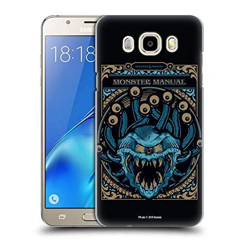 Head Case Designs Offizielle Dungeons & Dragons Monster Handbuch Hydro74 Kunstwerk Harte Rueckseiten Huelle kompatibel mit Samsung Galaxy J5 (2016)