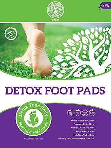 20 pz 2 in 1 Detox Foot patch [disintossicante sollievo dal dolore Pads] snellente cerotti [perdita di peso patch] emicrania antistress tossine Remove Pads