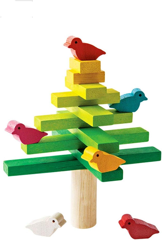 tienda de descuento LINGLIGN-JUGUETES Equilibrio Bloques de construcción Juguetes para el árbol Educación Educación Educación para la Primera Infancia Puzzle (Color  promociones emocionantes