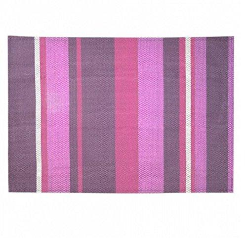 d/écorline set de table 32x47cm pvc silky rose