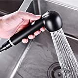 Doccetta di ricambio per rubinetto estraibile Ba, soffione doccia con 2 tipi di getto con ...