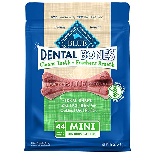 Blue Buffalo Dental Bones Natural Adult Dental...