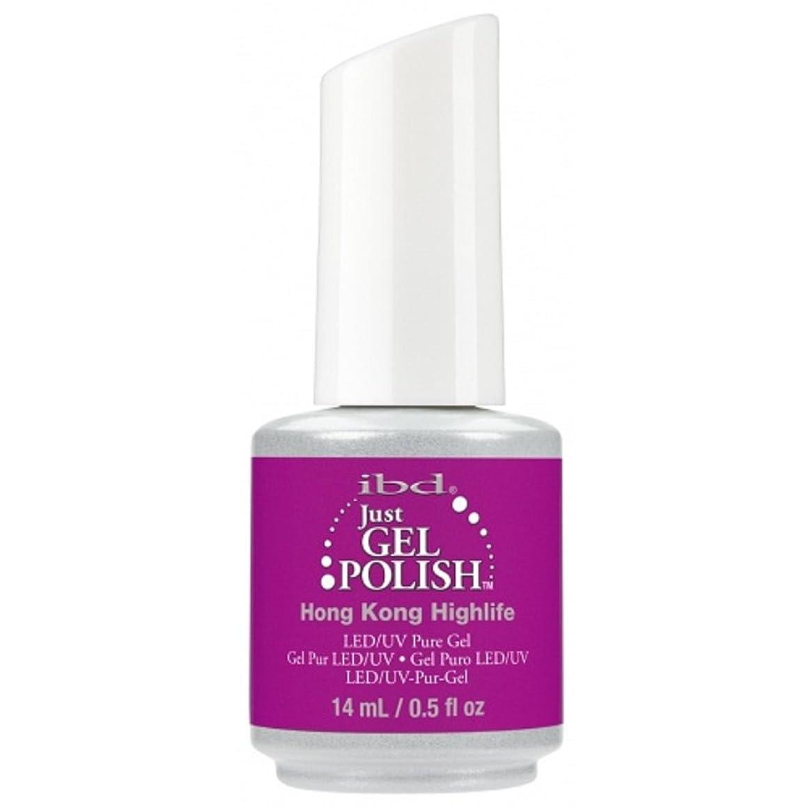 書き込み着陸プレゼンibd Just Gel Nail Polish - Summer 2017 Destination Colour Collection - Hong Kong Highlife - 14ml / 0.5oz