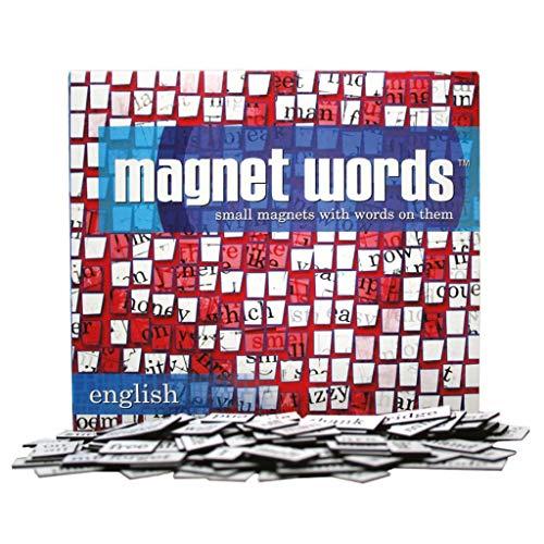 Kylskapspoesi 10004 - Englisch Magnetwörter