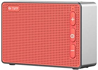 YANTING E5 Wireless Bluetooth Speaker, Multimedia Audio Speaker, Computer Speaker - Red (Color : A)