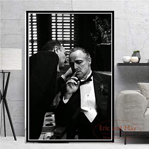 KWzEQ Leinwanddrucke Filmstar Wanddekoration für Wohnzimmer Wandkunst Bild nach Hause Poster Kunstwerk60x90cmRahmenlose Malerei
