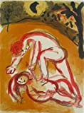 Marc Chagall 'Cain and Abel' original Bible lithograph | lithographie