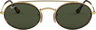 unisex-adult Rb3847n Oval Double Bridge Sunglasses Oval...