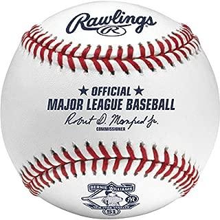 Rawlings ROMLBb51 2015 Bernie Williams Retirement Baseball Official MLB ROMLB