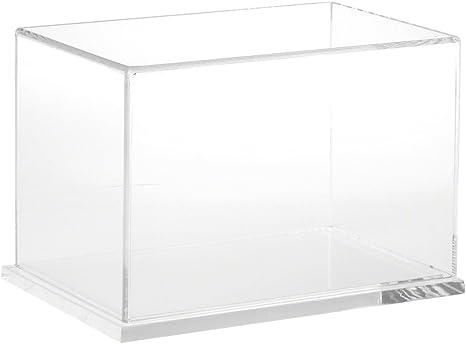 "Plymor Clear Acrylic Base for Rectangular Clear Acrylic Display Case 9/"" x 6/"""
