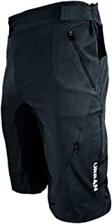Urban Cycling Apparel Flex II MTB Trail Shorts - Soft Shell Mountain Bike Shorts with Zip Pockets and Vents