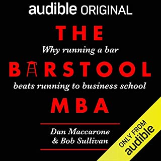 The Barstool MBA audiobook cover art