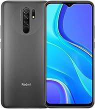 "Xiaomi Redmi 9 64GB, 4GB RAM, 6.53"" Full HD + AI Quad Camera, LTE Factory Unlocked Smartphone - International Version (Car..."