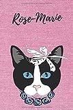 personalisiertes Notizbuch Katze