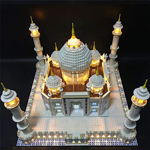 TETAKE Beleuchtung LED Licht Set für Lego Taj Mahal Creator 10256 (Nicht Enthalten Lego Modell)