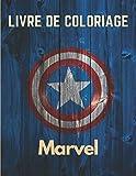 Livre de coloriage Marvel: Carnet de coloriage Marvel pour tout âge cadeau pour Halloween...