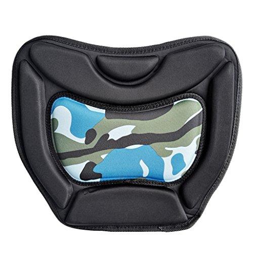Material de alta calidad, más cómodo y duradero Troquelado, grueso y elástico Protege efectivamente la parte inferior, siéntate muy cómodo. Ajuste para: kayaking, botes inflables, barcos de pesca, barcos de deriva Material: Tela EVA + Oxford