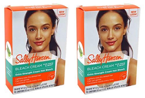 Sally Hansen Creme Bleach Xtra Strength Face & Body (2 Pack)