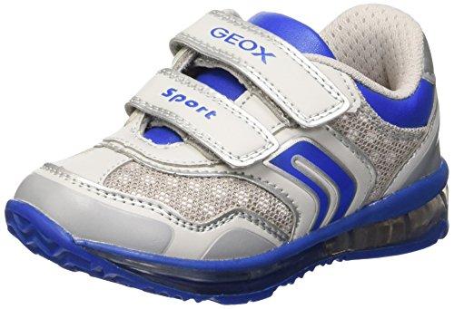 Geox - B5484A05014C1269 - Chaussures De Marche Pour Bébé, jaune (lt grey/royal), taille 24