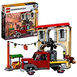 Build LEGO versions of a Dorado-style building with lantern, payload truck with removable generator from the popular Overwatch map Payload truck features space for a minifigure, a generator payload that can be taken off and hidden wheels Dorado-style...