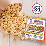 Great Northern Popcorn Company 8 Oz Kettle Premium Popcorn Portion Packs with Gourmet Popcorn Kernels, Coconut Oil, and Butter Flavored Salt, Case of 24