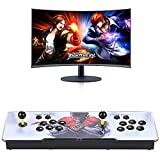 3D WiFi 4260 Classic Games Arcade Machine, Family Game 3D Pandora's Box, Support WiFi to Add More Games, Customized Button, 1280x720 Full HD, Search/ Save/ Hide/ Pause Game, 4 Players Online Game