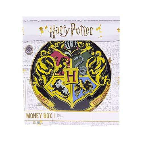 Paladone 5055964731908 Hogwarts Wappen Keramik Spardose inspiriert von Harry Potter Movies Keep Your Money Safe, Multi