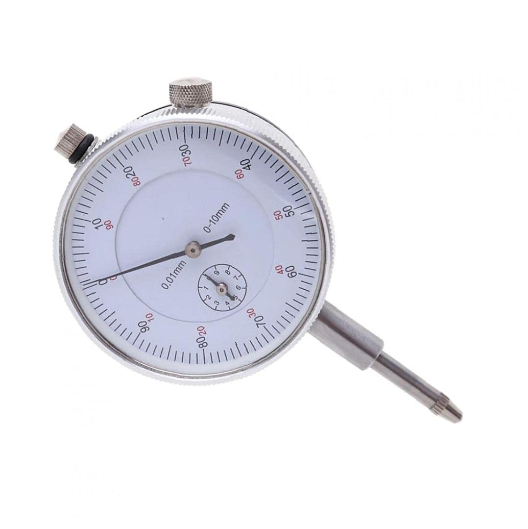 Dial Indicator 0.01mm Accuracy Measuring Test Metric 0-10m Free Shipping Bombing free shipping Cheap Bargain Gift Meter