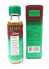 Zema Lotion Dermatitis Psoriasis Eczema Treatment Salicylic Acid 12% Size : 15 ml or 0.51 oz 1 bottle. This is for external use on the skin only. Apply on affected area twice daily. The lotion should be applied thinly and evenly to the affected areas