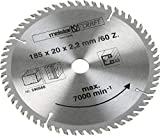 Meister 5905680 - Reemplazo de hoja de sierra 185 mm /...