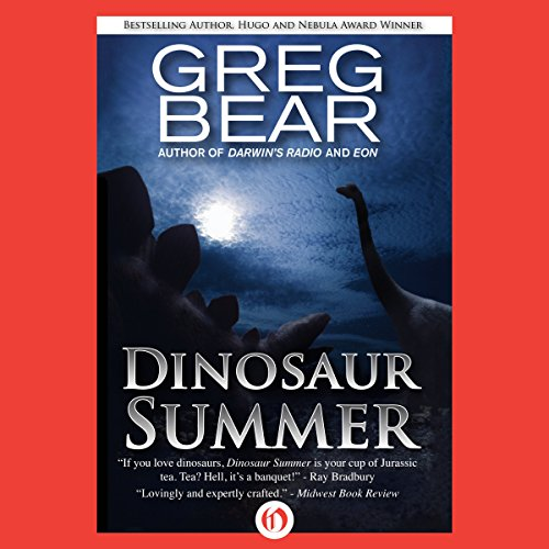 Dinosaur Summer audiobook cover art