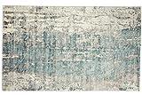 Handloom Vintage - Alfombra tejida a mano (300 x 200 cm, 200 x 300 cm), color gris