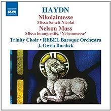 Haydn: Masses Vol.3 (Missa Sancti Nicolai Nikolaimesse/ Missa In Angustiis Nelsonmesse) by Trinity Choir (2010-06-29)