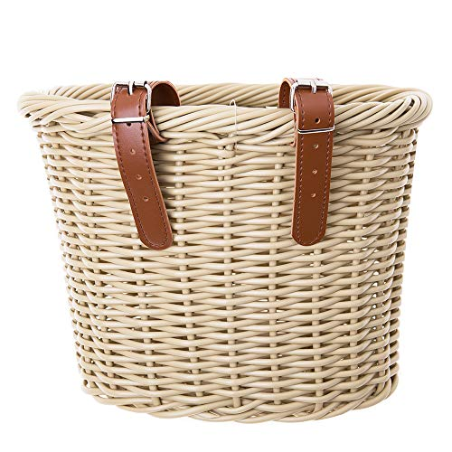wicker basket for bicycle - 6