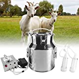 S SMAUTOP Milking Machine Kit for Sheep Portable Electric Milker Milking...