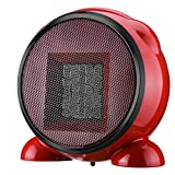 Electric Space Heater, One76 500W Electric Portable Heater Ceramic Electric Heater Fan Automatic Shut Off Personal Heater With Thermostat Overheat Protection For Home Bedroom Or Office