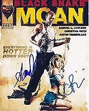 SAMUEL L. JACKSON & CHRISTINA RICCI signed autographed BLACK SNAKE MOAN photo