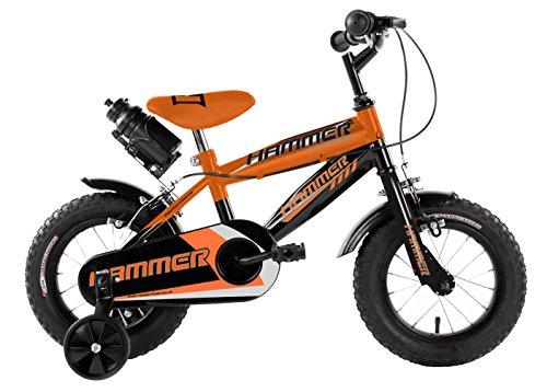Mario Schiano 242 12' Hammer New 01V Bike, Arancione/Nero, Multicolore