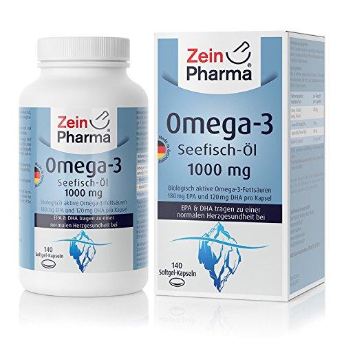 Zein Pharma Omega-3, 1000 Mg, 140 Caps