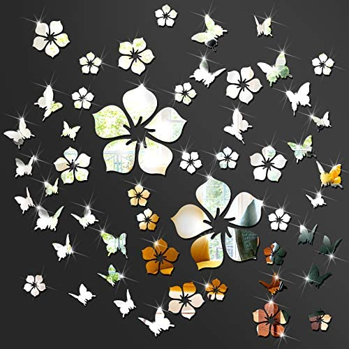 3d wall decals flowers _image3