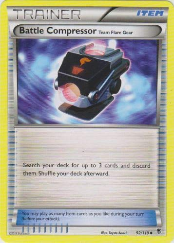 Pokemon - Battle Compressor (92/119) - XY Phantom Forces