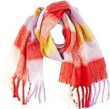 Vero Moda Vmmaura Long Scarf conjunto bufanda, gorro y guantes, Multicolor (High Risk Red High Risk Red), Talla Única para Mujer