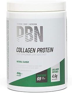 PBN - Bote de proteína de colágeno, 454 g (sabor natural