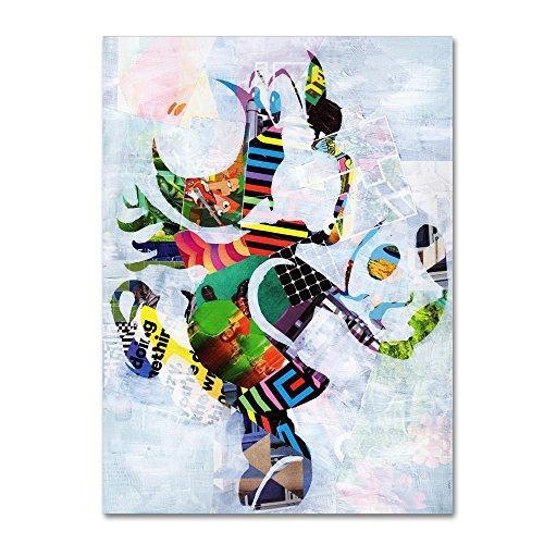 Yoshi 2 by Artpoptart, 24x32-Inch Canvas Wall Art