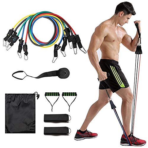 11-delige pak trek touw multifunctionele combinatie fitness puller pak pull riem mannen en vrouwen training Prada yoga weerstand band
