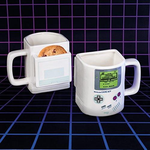 Nintendo Gameboy Cookie Tazza, Ceramica, Multi, 10 x 13 x 12 cm