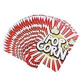 STOBOK 48Pcs di Carta Popcorn Borse Sacchetti di Nostalgico...