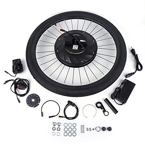 OUKANING Kit de conversión para bicicleta eléctrica, 36 V, 240 W, 26 pulgadas