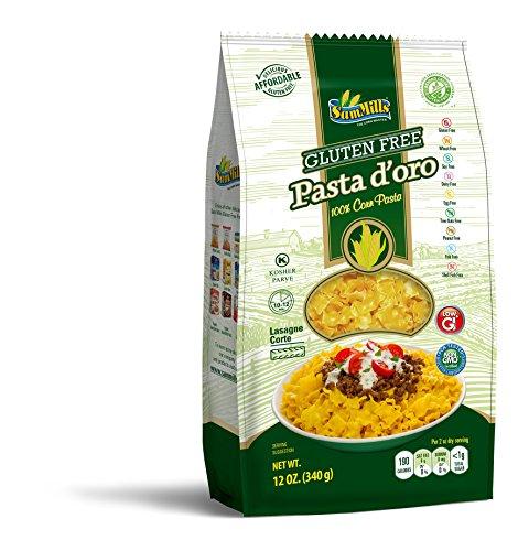 Sam Mills Gluten Free Corn Pasta Lasagna Corte 12oz. bag, pack of 6